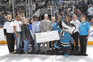 Sharks grant award